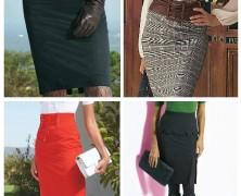 Универсальная юбка-карандаш. Как и с чем носить