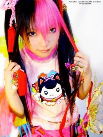 Модный подростковый стиль одежды Kawaii Фото