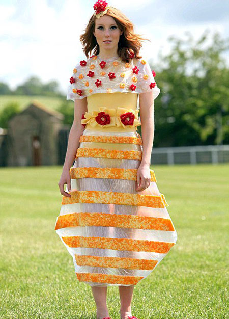 Платье из сыра – вкусно и красиво?  Фото