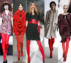 Как носить красное и отлично выглядеть Фото
