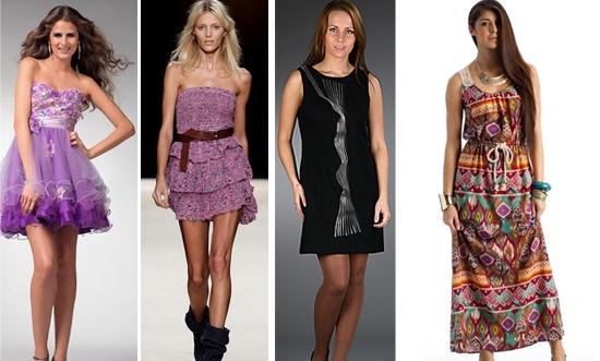 Повседневные платья для подростков Фото
