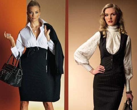 Классическая одежда для женщин Фото