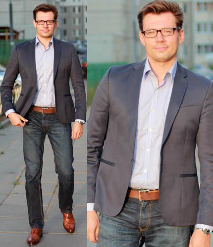 Модные советы для больших мужчин Фото