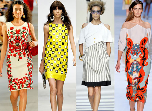 Модные тенденции лета 2012 Фото
