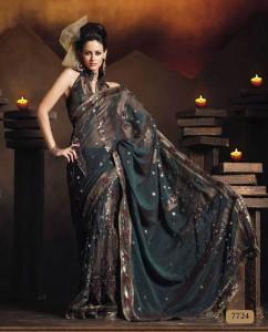 Сари — таинственная одежда, достойная Богини! Фото