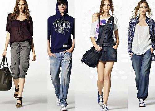 Летняя подростковая мода Фото