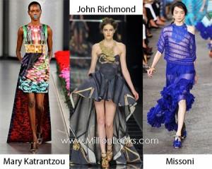 Платье кефаль   яркий тренд голливудской моды Фото