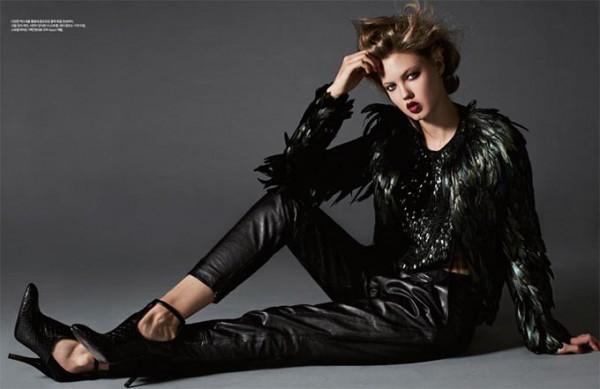 Модели с нестандартной внешностью:Линдси Виксон Фото