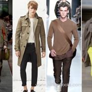 Горячие цвета в мужской одежде  весна / лето 2013