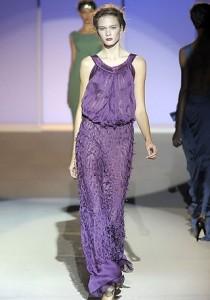 Фиолетовый цвет в одежде Фото