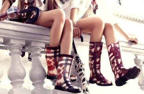 Резиновые сапоги – модный тренд или необходимость Фото