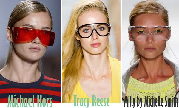 Солнцезащитные очки. Тенденции весна лето 2013 Фото