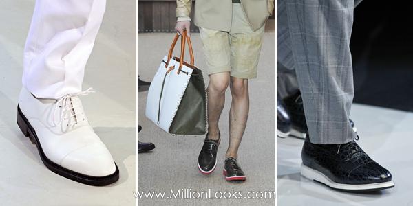Мужская обувь. Тенденции весна / лето 2013  Фото