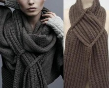 История появления шарфа