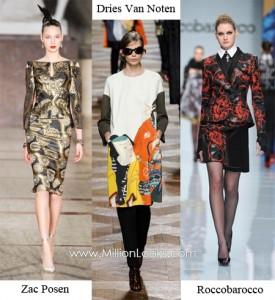 Тенденции моды Осень / Зима 2012/2013 Фото