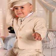 Льняные костюмы для мальчиков