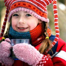Как одеть ребенка в морозную погоду Фото