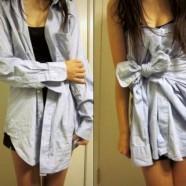 Мужские рубашки в женском гардеробе