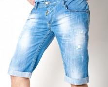 Мужские джинсовые шорты 2014