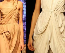 Одежда в драпированном стиле