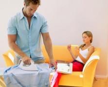 Гладим мужскую рубашку по всем правилам
