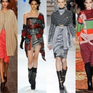 Платье с сапогами. Как сочетать и носить