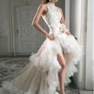 Платье-кефаль — яркий тренд голливудской моды