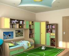 Современный интерьер для детской комнаты мальчика