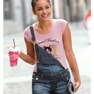 Джинсовый комбинезон – модный летний тренд