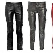 Кожаные брюки в женском гардеробе