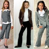Обновляем школьный гардероб для девочек. Весна 2014