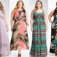 Мода для полных: Как выбрать платье макси
