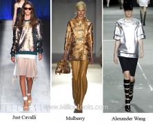 Металлик — модный тренд  2013