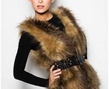 Женские меховые жилеты 2014