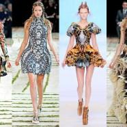 Стиль модерн — произведения искусства в моде