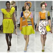 Мода и цвет. С чем носить желтое