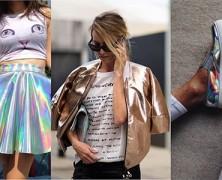 Примеряем модный металлик