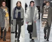 Мужские шарфы и шапки осень – зима 2015-2016