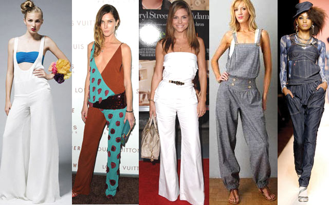 Комбинезоны – модная женская одежда Фото
