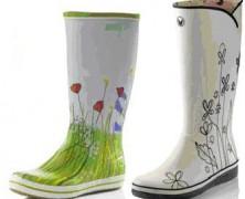Модные и практичные женские резиновые сапоги