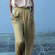 На модной арене широкие брюки. Встречайте!