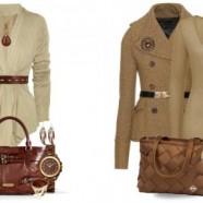 С чем сочетается коричневый цвет в одежде