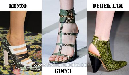 Тенденции обуви на сезоны весна/лето 2013        Фото