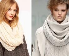 Стильные шарфы осень 2014