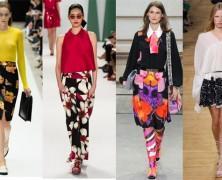 Самый женственный тренд сезона 2015 – юбки