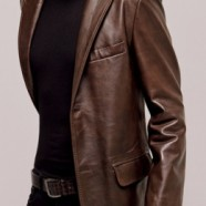 Кожаные пиджаки для мужчин