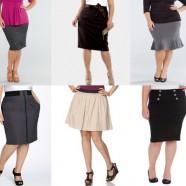 Юбки для полных дам — какие носить?