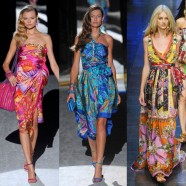 Летние цветочные платья