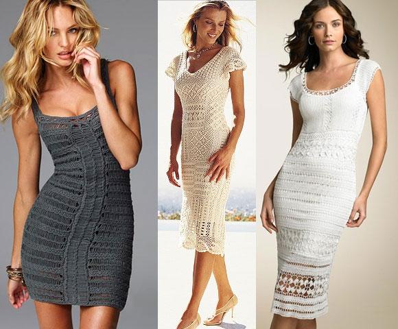 Платья со схемами модные платья