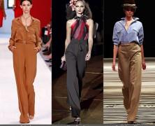 Тренды весны: широкие брюки